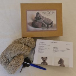 Kit crochet, doudou Sibadou